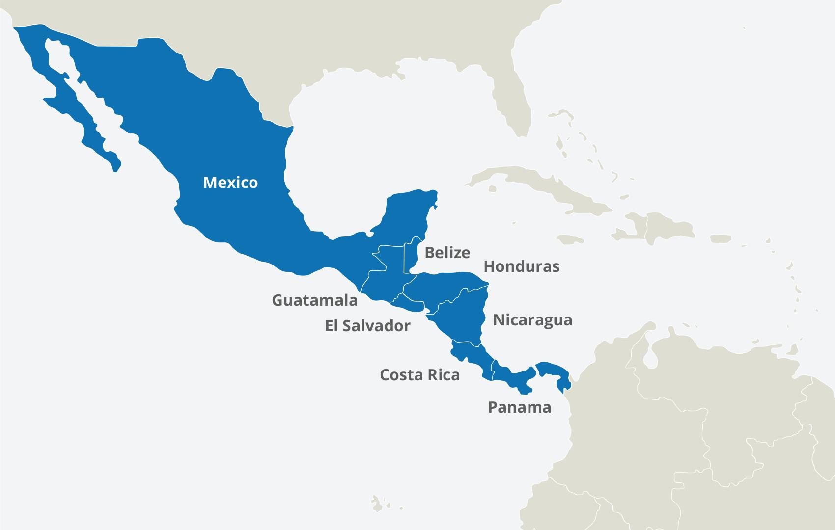 Central America | Peak DMC